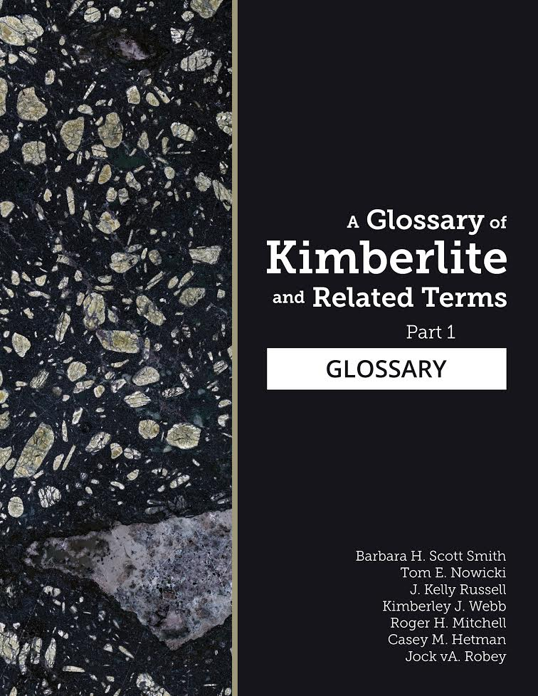 Book cover of A Glossary of Kimberlite and Related Terms